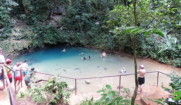 Belize Inland Blue Hole National Park